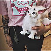 Куклы и игрушки ручной работы. Ярмарка Мастеров - ручная работа Зефирная лисичка. Marshmallow Fox. ( с крыльями). Handmade.