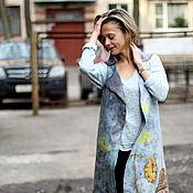 Одежда ручной работы. Ярмарка Мастеров - ручная работа Пальто валяное Тайны Старого города. Handmade.