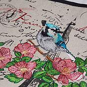 """Для дома и интерьера ручной работы. Ярмарка Мастеров - ручная работа Фартук: """"Утро в Париже"""". Handmade."""