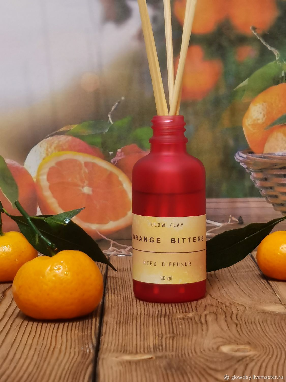 """Арома диффузор """"Orange Bitters"""" 50 мл. Reed diffuser, Ароматические диффузоры, Москва,  Фото №1"""