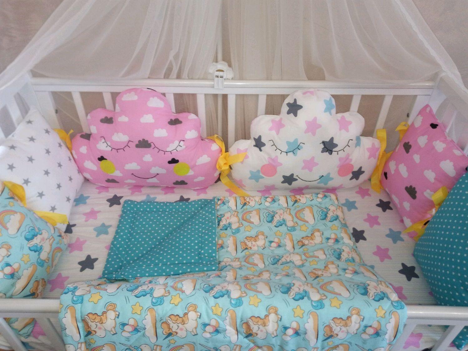 Бортики в кроватку, Бортики в кроватку, Москва,  Фото №1