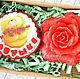 """Мыло ручной работы. Ярмарка Мастеров - ручная работа. Купить Набор мыла """"Бабушке"""". Handmade. 8 марта, восьмерка, бабушке"""