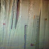 Материалы для творчества ручной работы. Ярмарка Мастеров - ручная работа Перфокарты для вязальных машин 24 петли (готовые). Handmade.
