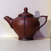 """Посуда ручной работы. Ярмарка Мастеров - ручная работа чайник ручной работы """"файф-о-клок 2"""". Handmade."""
