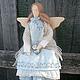 Куклы Тильды ручной работы. Заказать Зося. Виктория Бондарь(интерьерные куклы). Ярмарка Мастеров. Бохо стиль, эко-стиль, хлопок