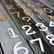 Материалы для творчества ручной работы. Ярмарка Мастеров - ручная работа Цифры, набор вырубки. Handmade.