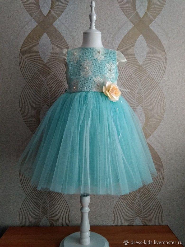 """Нарядное платье """"Аквамарин"""", Платья, Новосибирск, Фото №1"""