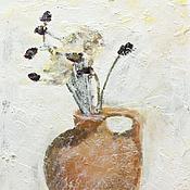 Картины и панно ручной работы. Ярмарка Мастеров - ручная работа Сухоцветов букет. Handmade.