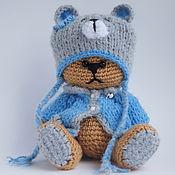 Куклы и игрушки ручной работы. Ярмарка Мастеров - ручная работа МИШКА Тедди в костюмчике. Handmade.