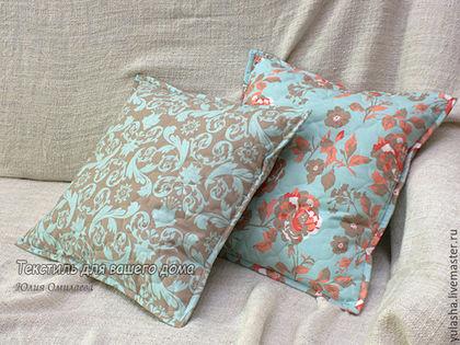 Наволочка декоративная Подушка на диван Красивая подушка в подарок на новоселье, день рождения, Подарок маме, подруге, женщине девушке Наволочка из хлопка в спальню, диванная подушка
