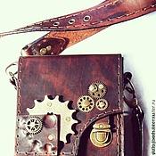 Классическая сумка ручной работы. Ярмарка Мастеров - ручная работа Сумка Стимпанк. Handmade.