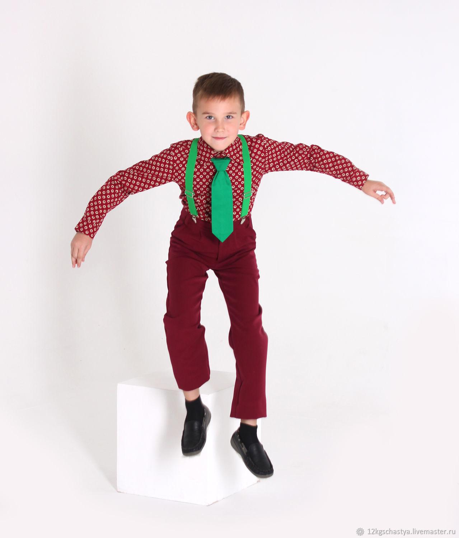 """Костюм для мальчика """"Стиляги"""" яблочки, Комплекты одежды, Ижевск, Фото №1"""