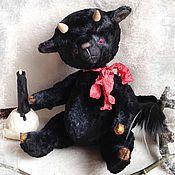 Куклы и игрушки ручной работы. Ярмарка Мастеров - ручная работа Зулу (чертик). Handmade.