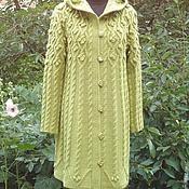"""Одежда ручной работы. Ярмарка Мастеров - ручная работа Вязаное пальто """"Живая лоза """". Handmade."""