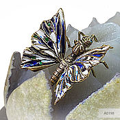 Для дома и интерьера handmade. Livemaster - original item Butterfly on a Lotus flower made of agate-a symbol of rebirth and lightness. Handmade.