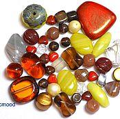 Материалы для творчества handmade. Livemaster - original item 20 g Beads Czech Mix Autumn mood 0460 glass beads Preciosa. Handmade.