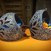 Вазы ручной работы. Ярмарка Мастеров - ручная работа Конфетница из керамики с прорезью. Handmade.