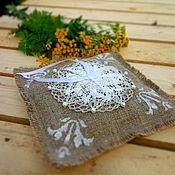 Свадебный салон ручной работы. Ярмарка Мастеров - ручная работа Подушечка для колец. Handmade.
