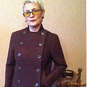 """Одежда ручной работы. Ярмарка Мастеров - ручная работа Пиджак""""Горький Шоколад"""". Handmade."""