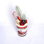 Год Крысы ручной работы. Ярмарка Мастеров - ручная работа Шоколадный  Мини подарок на новый год арт. 1-005. Handmade.