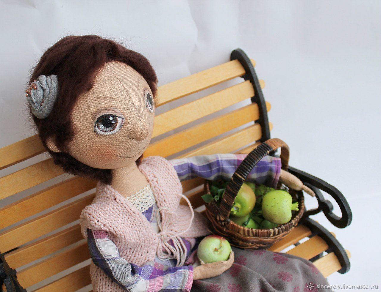Кукла в деревенском стиле, Тыквоголовка, Зеленоград,  Фото №1