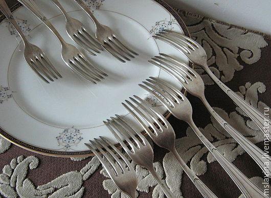 Винтажная посуда. Ярмарка Мастеров - ручная работа. Купить Вилки столовые, винтаж, Германия WMF. Handmade. Вилка, столовые приборы