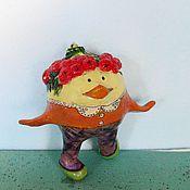 Русский стиль ручной работы. Ярмарка Мастеров - ручная работа новый год елочные шары Рябиновка. Handmade.