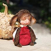 Куклы и игрушки ручной работы. Ярмарка Мастеров - ручная работа Чебу. Плюшевый слонёнок.. Handmade.