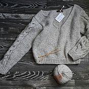 Одежда ручной работы. Ярмарка Мастеров - ручная работа Пуловер объёмный. Handmade.