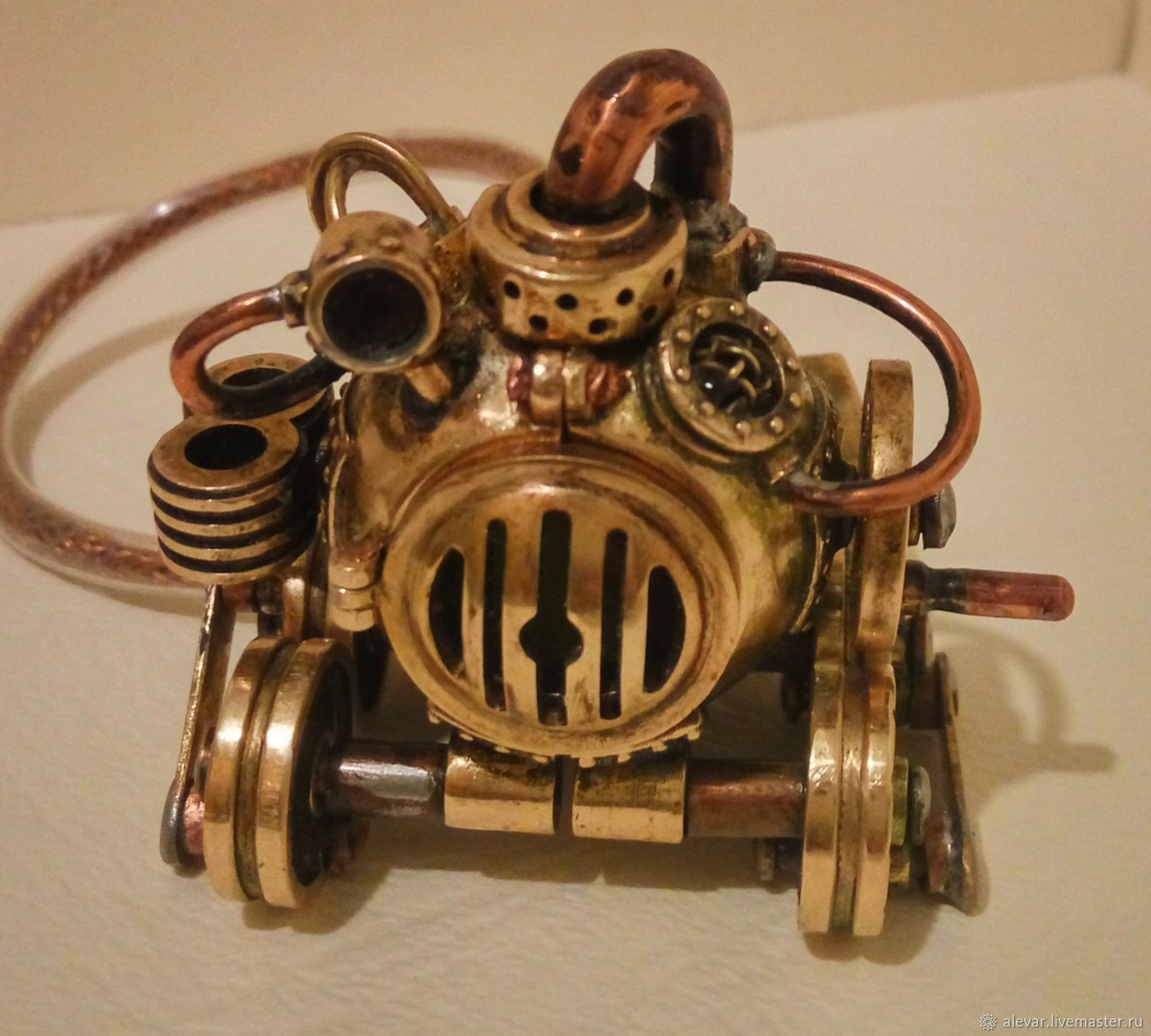 USB flash drive in steampunk style 32Gb, Subculture Attributes, Moscow,  Фото №1