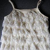 Одежда ручной работы. Ярмарка Мастеров - ручная работа Топик для девушки Нежность. Handmade.