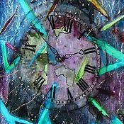 Картины и панно ручной работы. Ярмарка Мастеров - ручная работа Часы вселенной. Handmade.