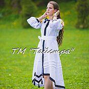 Одежда ручной работы. Ярмарка Мастеров - ручная работа Платье женское, вышитое, бохо, этно стиль, Bohemia,вышиванка. Handmade.