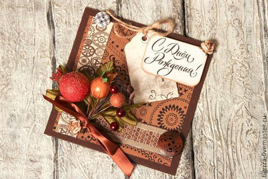 """Открытки на все случаи жизни ручной работы. Ярмарка Мастеров - ручная работа. Купить Открытка """"Chocolate"""" (открытка ручной работы). Handmade."""