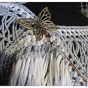 Украшения ручной работы. Ярмарка Мастеров - ручная работа заколка Бабочка. Handmade.
