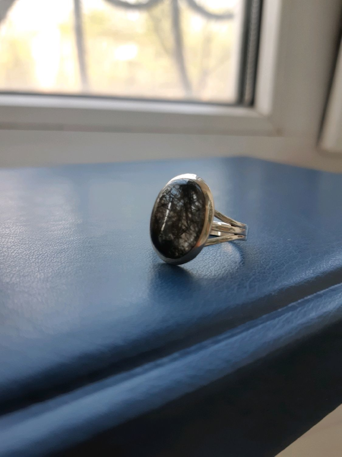 ROMINO-silver ring with tourmaline quartz, Rings, Moscow,  Фото №1