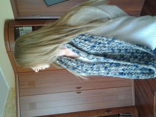 Шарфы и шарфики ручной работы. Ярмарка Мастеров - ручная работа. Купить шарф,снуд. Handmade. Снуд вязаный, мягкий, уютный