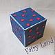 """Подарки для влюбленных ручной работы. Сладкая коробочка """"Любовь это..."""". Fairy Land (Fairy-Land-Lusy). Ярмарка Мастеров. Шоколадка"""
