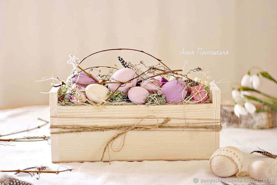 Easter Souvenirs: eggs in a box, Easter souvenirs, Ryazan,  Фото №1