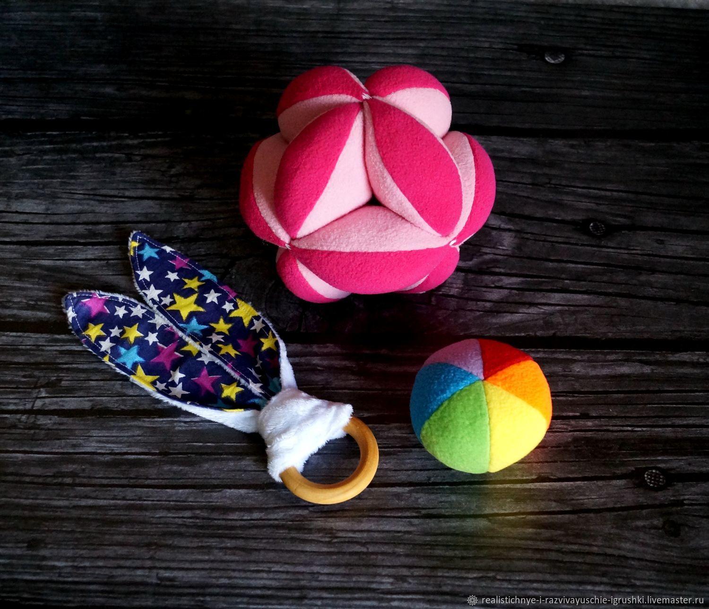 Мяч Такане. Набор игрушек для подарка, Вальдорфские игры и наборы, Бийск,  Фото №1