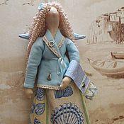 Куклы и игрушки ручной работы. Ярмарка Мастеров - ручная работа Хранительница ватных дисков для Елены. Handmade.