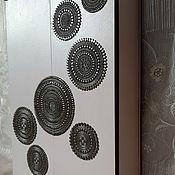 handmade. Livemaster - original item Key holders wall: Housekeeper - locker Space. The housekeeper wall.. Handmade.