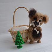 Мягкие игрушки ручной работы. Ярмарка Мастеров - ручная работа Собачки Малыши. Handmade.