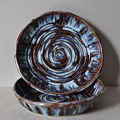 Посуда ручной работы. Ярмарка Мастеров - ручная работа Пара тарелок. Handmade.
