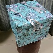 Подарки к праздникам handmade. Livemaster - original item Large gift box