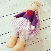 Куклы и игрушки ручной работы. Ярмарка Мастеров - ручная работа Зайка Ксюша. Handmade.