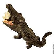"""Для дома и интерьера ручной работы. Ярмарка Мастеров - ручная работа Ваза """"Крокодил"""". Handmade."""