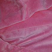 """Материалы для творчества ручной работы. Ярмарка Мастеров - ручная работа Велюр """"Розовый"""". Handmade."""