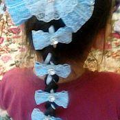 Украшения ручной работы. Ярмарка Мастеров - ручная работа Лента в косу. Handmade.
