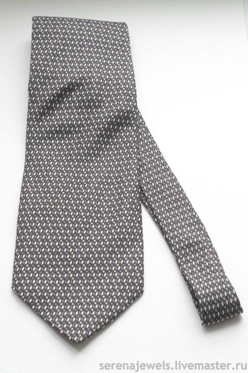Винтажная одежда и аксессуары. Ярмарка Мастеров - ручная работа. Купить Шелковый галстук №3 KETCH. Handmade. Коричневый, мужской галстук